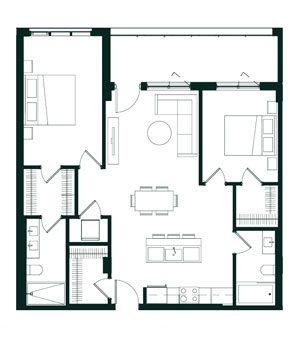 Plan Maisons de ville & condos - Oria Condominiums