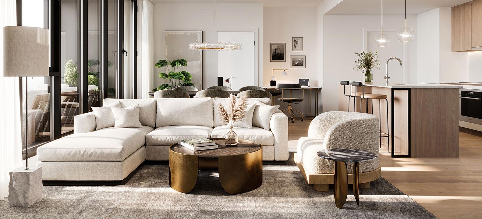 Oria Condominiums - Salon exécutif